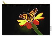 Monarch And Tithonia Light And Shadow Carry-all Pouch