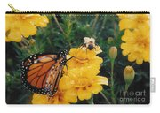 #002 Monarch Bumble Bee Sharing Carry-all Pouch