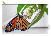 Monarch Butterfly In The Garden 3 Carry-all Pouch