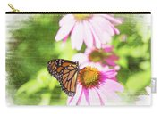 Monarch Butterfly Art Carry-all Pouch