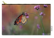 Monarch Butterfly In Autumn 2011 Carry-all Pouch