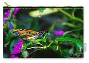 Monarch Buttefly Carry-all Pouch