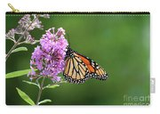 Monarch Butterfly On Butterfly Bush 2011 Carry-all Pouch