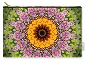 Monarch Butterfly On Milkweed Kaleidoscope Carry-all Pouch
