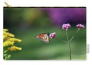 Monarch In Fall Garden 2011 Carry-all Pouch
