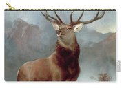 Monarch Of The Glen Carry-all Pouch