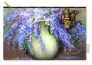 Monarch Of The Lilacs Carry-all Pouch