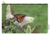 Monarch On A Butterfly Bush Carry-all Pouch