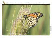 Monarch On A Thistle  Carry-all Pouch