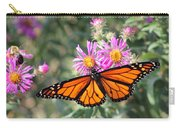 Monarch On Blanket Flower Carry-all Pouch