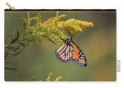 Monarch On Goldenrod Carry-all Pouch