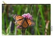 Monarch On Joe Pye Carry-all Pouch