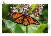 Monarch On Milk Weed Carry-all Pouch