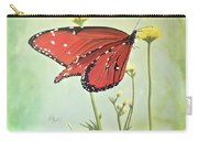 Monarch On Milkweed Carry-all Pouch