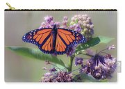 Monarch On The Milkweed Carry-all Pouch