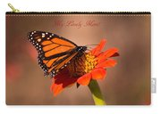 Monarch On Tithonia Mother's Day Gifts Carry-all Pouch