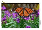 Monarch Spreading Its Wings Carry-all Pouch