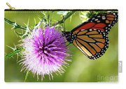 Monarch Thistle Carry-all Pouch