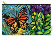 Monarch With Milkweed Carry-all Pouch