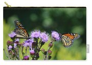 Monarchs And Blazing Star Carry-all Pouch