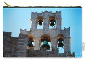 Monastery Bell Tower On Patmos Island Greece Carry-all Pouch