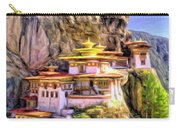 Monastery In Bhutan Carry-all Pouch