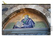 Monastery Of Saint John The Theologian Doorway Mural Carry-all Pouch