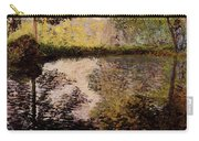 Monet Claude Pond At Montgeron Carry-all Pouch