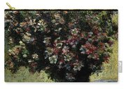 Monet Claude Vase Of Flowers Carry-all Pouch
