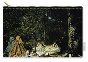 Monet Dejeuner Sur L Herbe A Chailly Carry-all Pouch