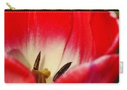 Monet Garden Red Tulip Carry-all Pouch