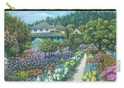 Monet's Garden Giverny Carry-all Pouch