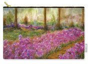 Monet's Garden In Cannes Carry-all Pouch