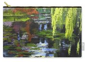 Monets Garden Painting Palette Knife Carry-all Pouch