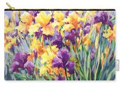 Monet's Iris Garden Carry-all Pouch