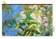 Monet's Irises Carry-all Pouch