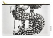 Money Monument Carry-all Pouch by James Williamson