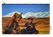 Mongolia Land Of The Eternal Blue Sky Carry-all Pouch