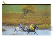 Mongolian Rider Carry-all Pouch