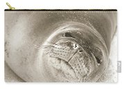 Monk Seal Carry-all Pouch