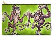 Monkey Dance Carry-all Pouch