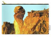 Monkey Face Pillar At Smith Rock Carry-all Pouch