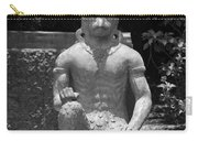 Monkey In Black And White Carry-all Pouch