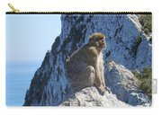 Monkey In Gibraltar Carry-all Pouch