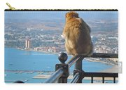 Monkey Overlooking Spain Carry-all Pouch