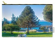 Monkey Puzzle Tree In Central Park In Bariloche-argentina  Carry-all Pouch