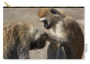 Monkeys Grooming Carry-all Pouch