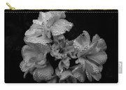 Mono Flower Chrome Carry-all Pouch