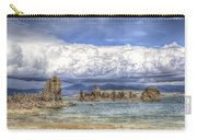Mono Lake Tufas And Clouds Carry-all Pouch