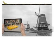 Monochromatic Concept Travel To Netherlands Carry-all Pouch